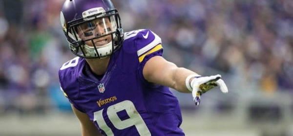 Adam Thielen Vikings WR