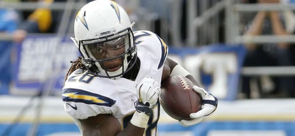Melvin Gordon Chargers RB