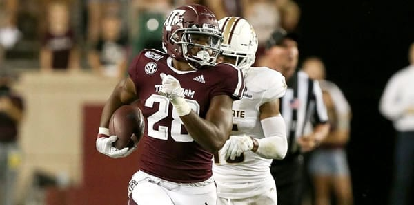 Asaiah Spiller Texas A&M RB