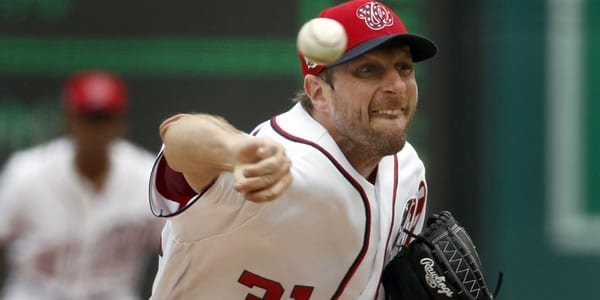 Max Scherzer Washington Starting Pitcher Game 7