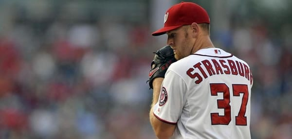 Stephen Strasburg Nationals Starting Pitcher in Game 6