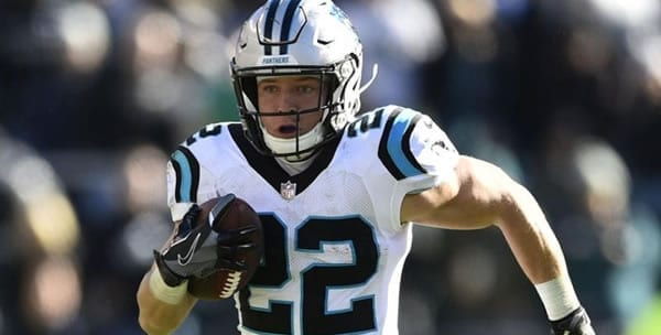 Christian McCaffrey Panthers RB