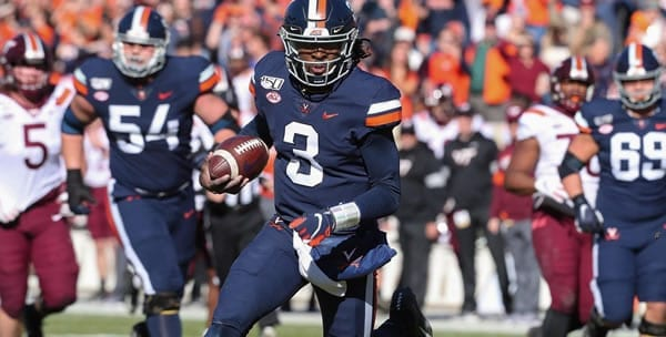 Bryce Perkins Virginia QB