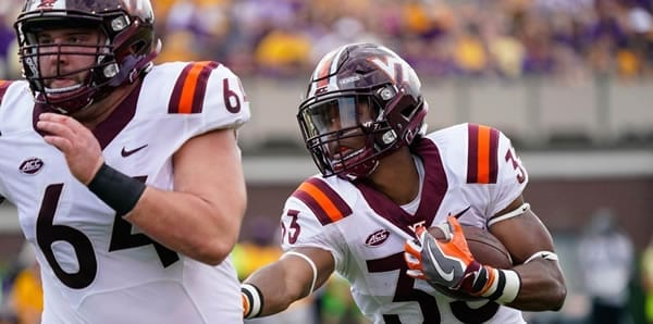 DeShawn McClease RB Hokies