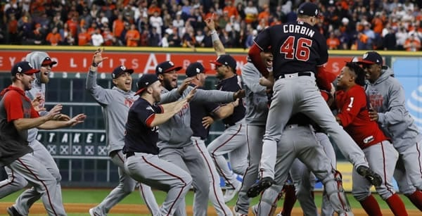 2019 World Series Winner Washington Nationals