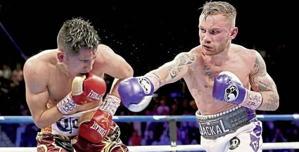 Carl Frampton wIll fight in the WBO Featherweight Title Bout