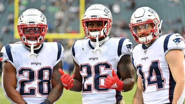Patriots 2020 Recievers