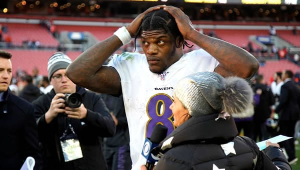 Lamar Jackson Ravens QB