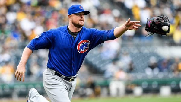 Jon Lester Cubs Starting Pitcher