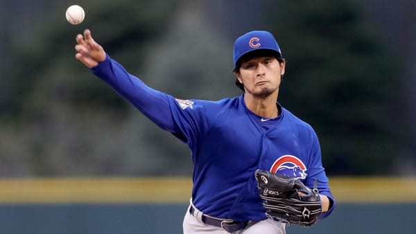 Yu Darvish Cubs Pitcher