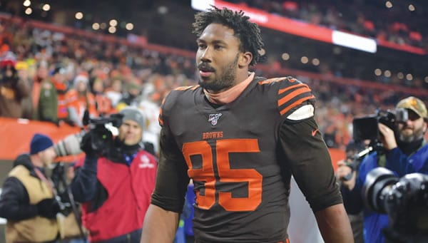 Washington Football Team at Cleveland Browns Pick