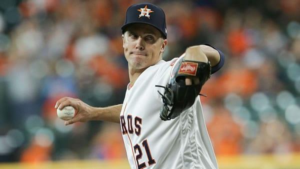 Zack Greinke Astros Starting Pitcher