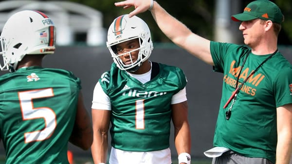 D'eriq King Miami QB