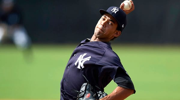 Deivi Garcia Yankees Starting Pitcher