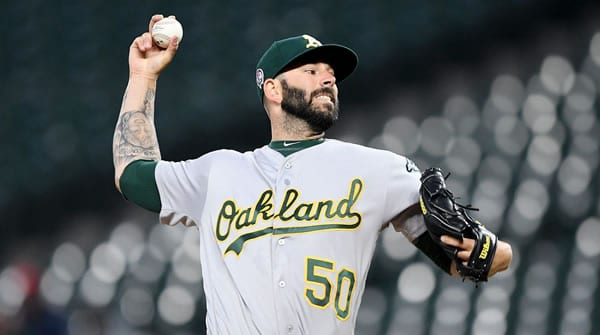 Mike Fiers A's Starting Pitcher
