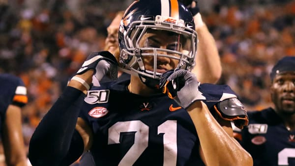 Wayne Taulapapa RB Virginia