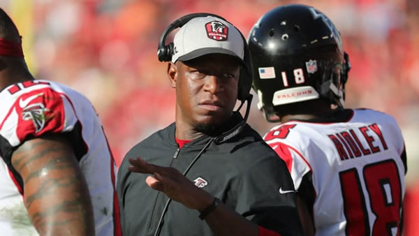 Raheem Morris Falcons Interim Head Coach