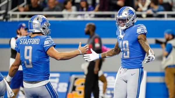 Lions QB Stafford & WR Golladay