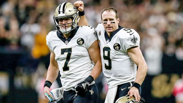 Drew Brees & Taysom Hill Saints
