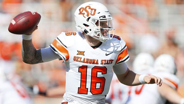 Shane Illingworth Oklahoma State QB