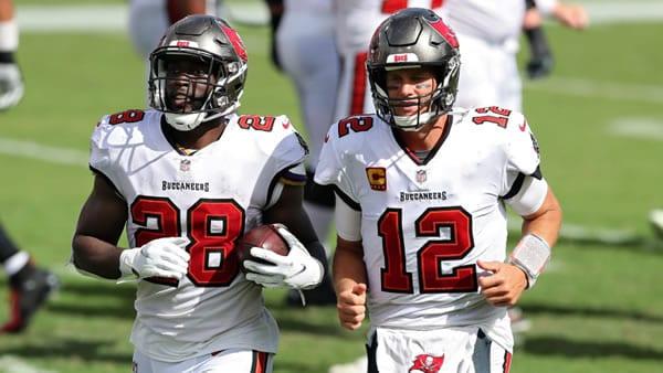 Bucs RB Fournette & QB Brady