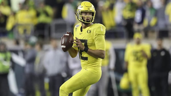 Tyler Shough QB Oregon Ducks