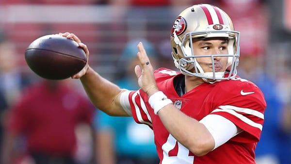 San Francisco 49ers QB Nick Mullens