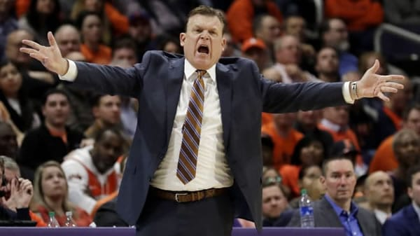 Brad Underwood Illinois Basketball Coach