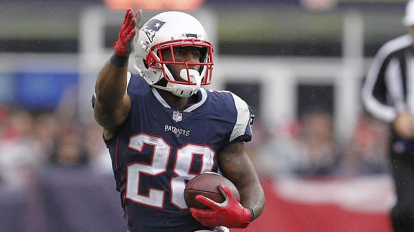 James White RB Pats