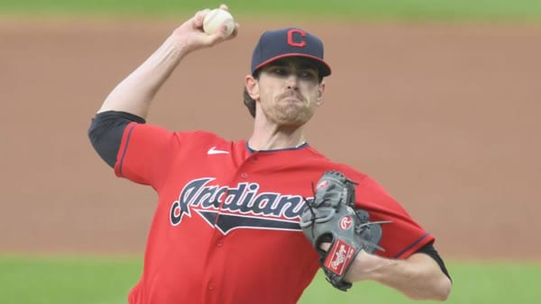 Shane Bieber Indians Ace Picther
