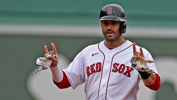 J.D. Martinez Red Sox