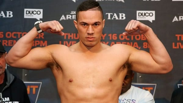Joseph Parker Heavyweight Boxer