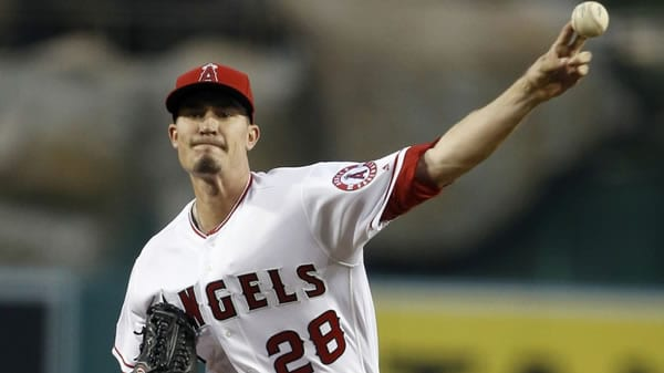 Andrew Heaney Angels Starting Pitcher