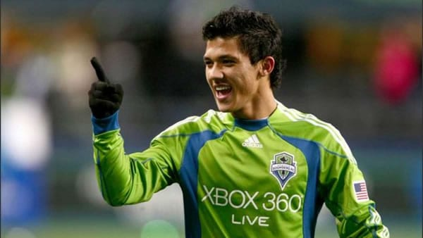 Freddy Montero Seattle Sounders