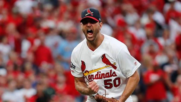 Adam Wainwright Cardinals Starting Pitcher