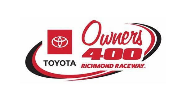 Toyota Owners 400 Race Logo