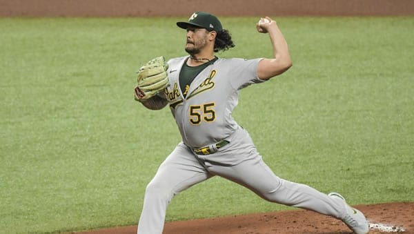 Sean Manaea A's Starting Pitcher