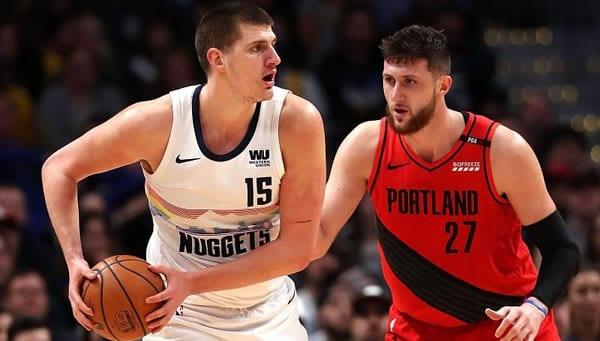 Portland Trailblazers vs Denver Nuggets