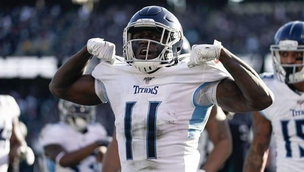 A.J. Brown Titans WR