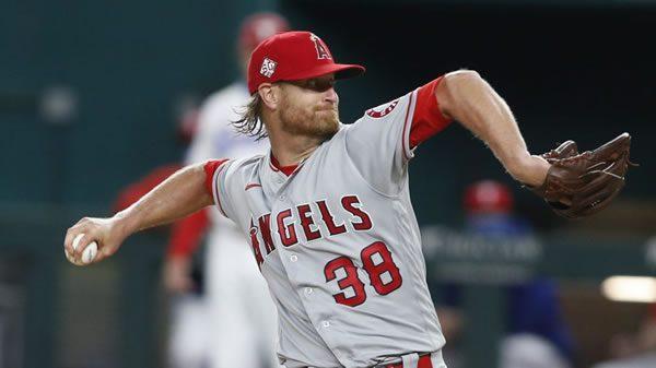 LA Angels Alex Cobb Starting Pitcher