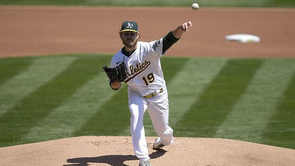 Cole Irvin Oakland A's Starting Pitcher
