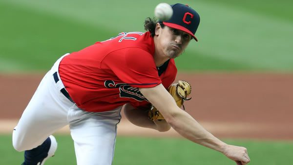 Cal Quantrill Indians Starting Pitcher