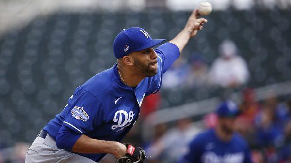 Daid Price Dodgers Starting Pitcher