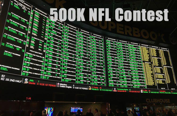 500K NFL Contest