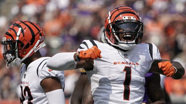 JaMarr Chase Bengals WR