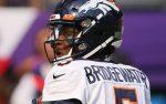Teddy Bridgewater QB Broncos