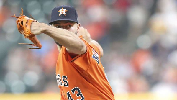 Lance McCullers Jr Astros Starting Pitcher