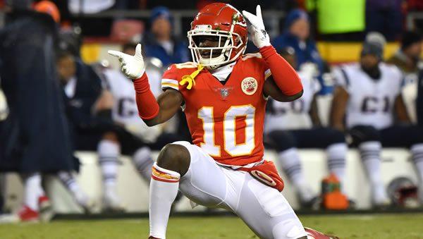 Tyreek Hill WR Kansas City Chiefs