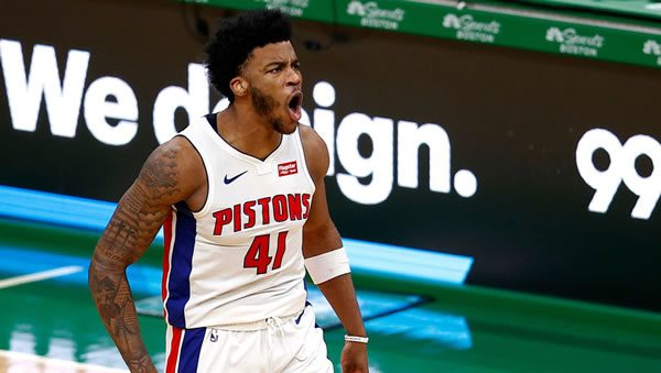 Saddiq Bay Pistons