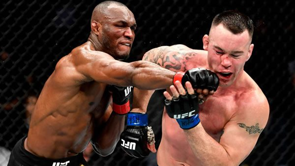 Usman vs. Covington Fight